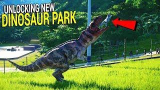 NEW ISLAND UNLOCKED   Big HURRICANES Hit JURASSIC WORLD   Jurassic World Evolution