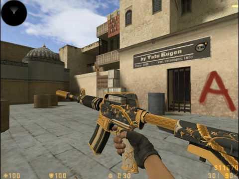 PACK SKINS M4A1-S HD [40 SKINS] | Counter-Strike 1.6