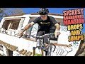 HUGE MTB JUMPS AND DROPS - THE SICKEST ABANDONED MANSION