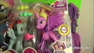 PRINCESS TWILIGHT vs. RAINBOW DASH! My Little Pony Princess 2-Packs Review! by Bin