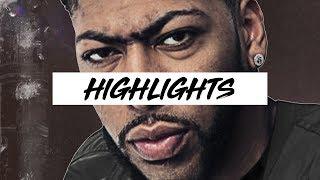 Best Anthony Davis Highlights 17-18 Season   Clip Session