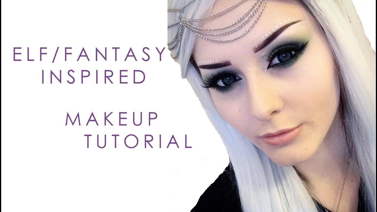 Elf Fantasy Inspired Makeup Tutorial Youtube