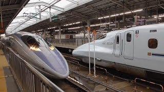 500系 団体列車 新大阪入線