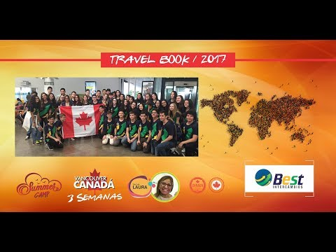 Travel Book do Summer Camp Vancouver - Canada / 2017 - Teacher Laura