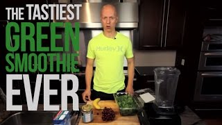 The Tastiest Green Smoothie Ever!