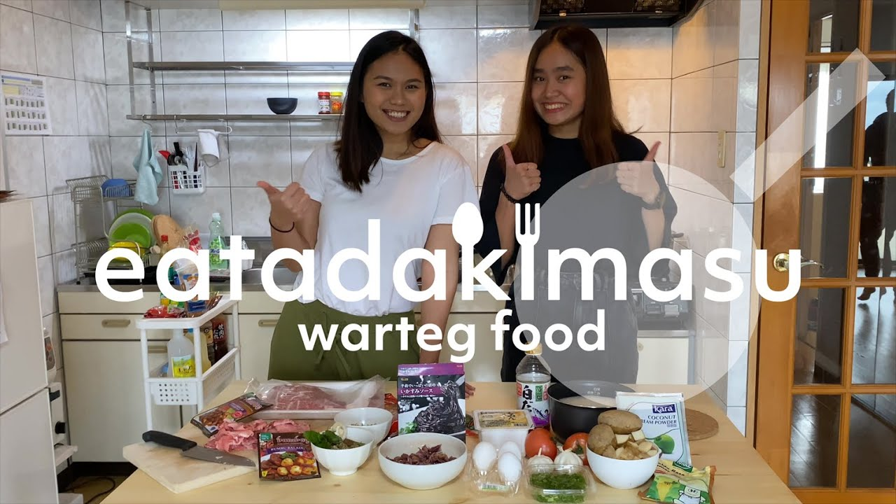 [EATADAKIMASU] Make Warteg Food in Japan!