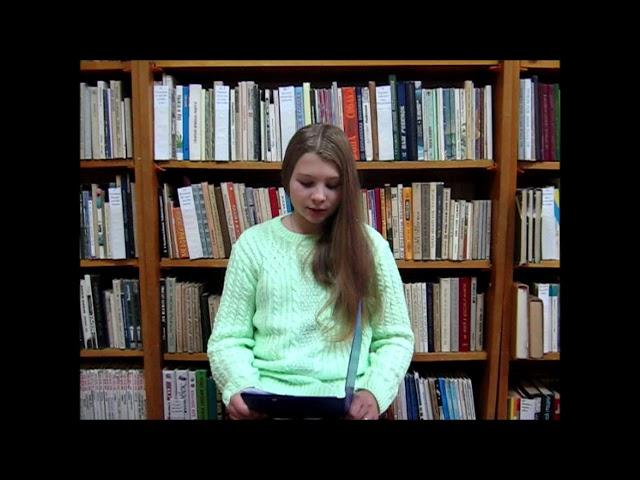Изображение предпросмотра прочтения – МарияМезенцева читает произведение «Важно научиться любить!» О.В.Фокиной