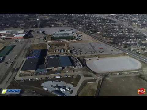 WRA Architects / Mesquite ISD Lanny Frasier Middle School Construction Update