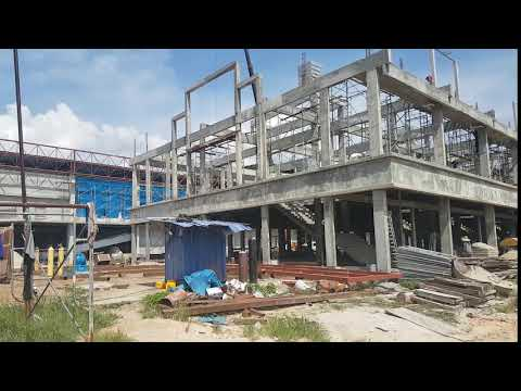 Econsave Kuala Kuang, Chemor, Perak. Under construction 4th October '17