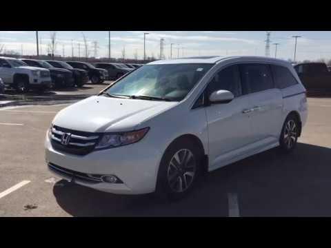 2017 Honda Odyssey Touring Review