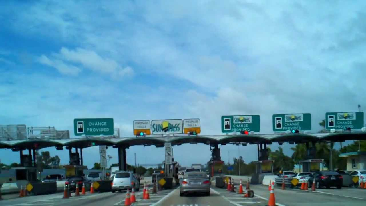 Time Lapse Driving Video Going North On The Florida Turnpike From