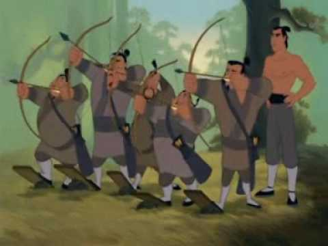 Ill make a man out of you Mulan ENG