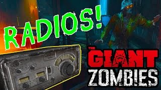 Black Ops 3 THE GIANT - ALL RADIO EASTER EGGS! STORY INFO! All Locations! (BO3 Zombies Gameplay)