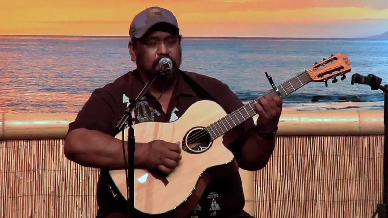 Waimanalo Slackkeyshow Kawika Kahiapo Youtube