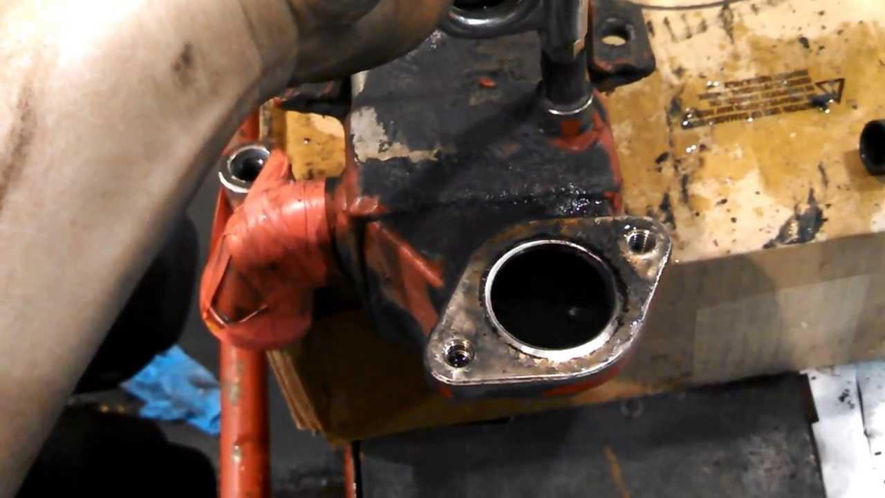 pressure testing cummins isl egr cooler