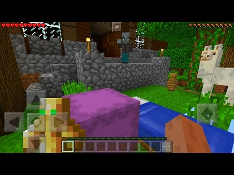 Minecraft Pocket Edition 1.1 Gameplay (The Discovery Update Features)