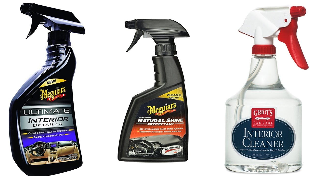 Top 5 Best Interior Cleaner Reviews Best Car Polish  YouTube