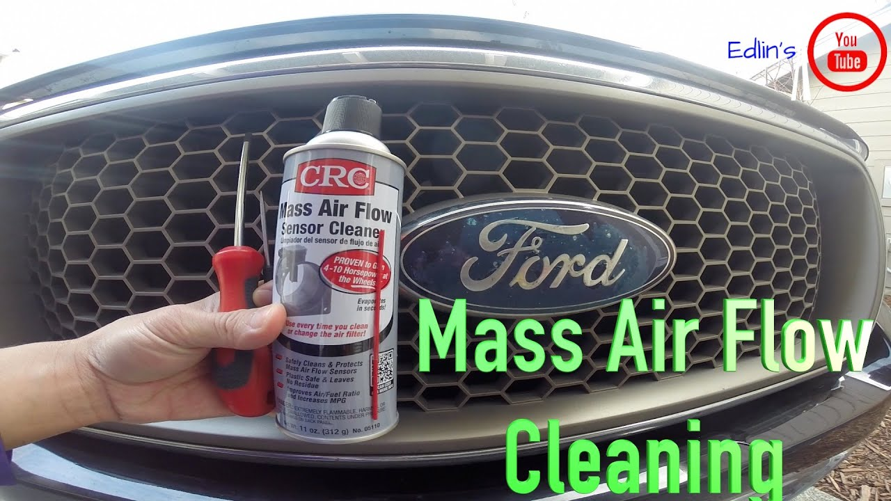 ford f 150 mass air flow sensor cleaning under 5 minutes [ 1280 x 720 Pixel ]