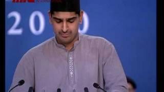 Nazam - Concluding-Session Jalsa Salana Germany 2010 part 2/2