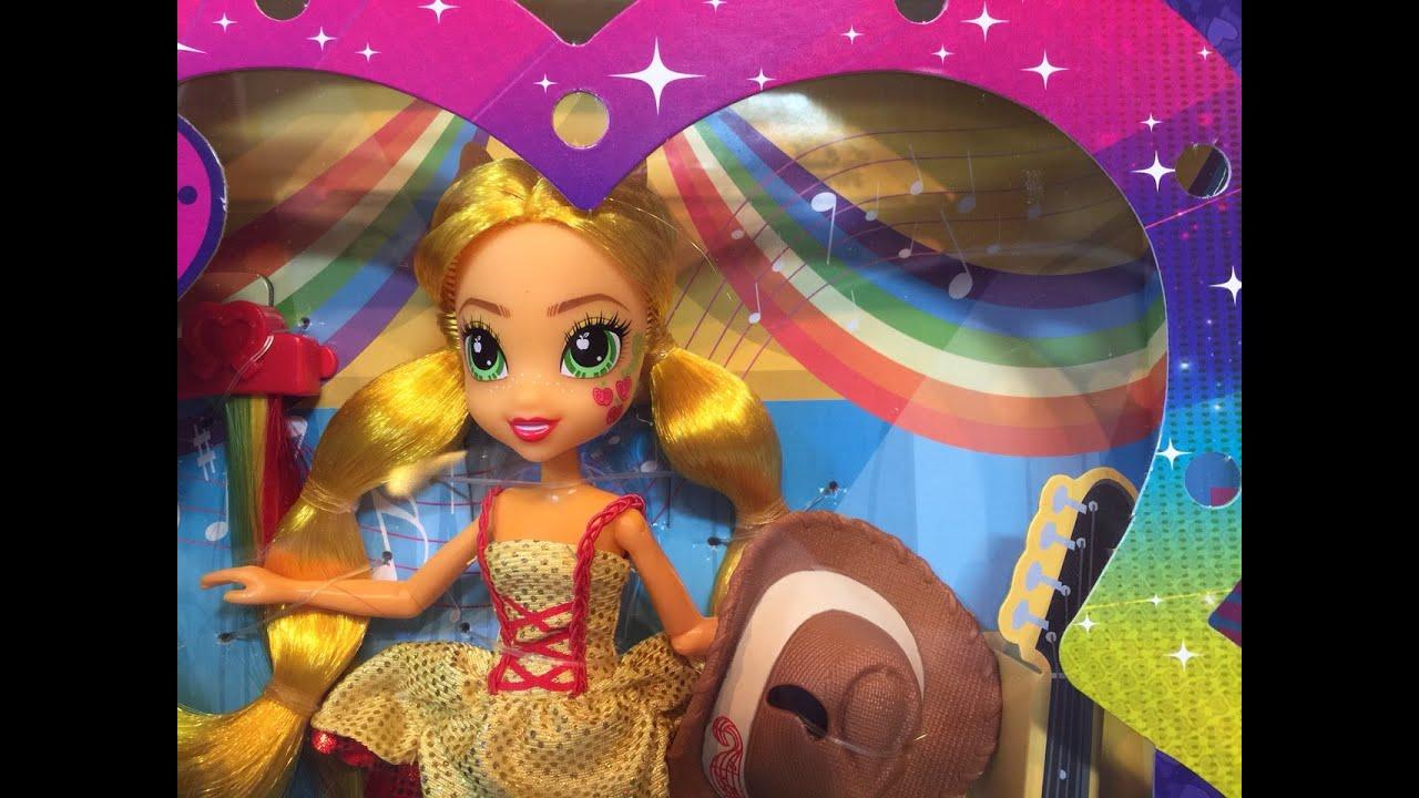 Applejack Rockin Hairstyle My Little Pony Equestria Girls Rainbow - Rockin hairstyles dolls
