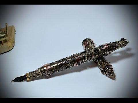 Steampunk Vintage fountain pen