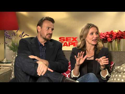 Sex Tape 2014 Exclusive: Jason Segel and Cameron Diaz HD Cameron Diaz, Jason Segel