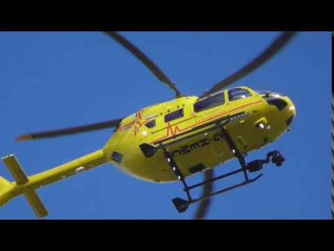good EAAA Air Ambulance helicopter 22sep16 Cambridge UK 331p