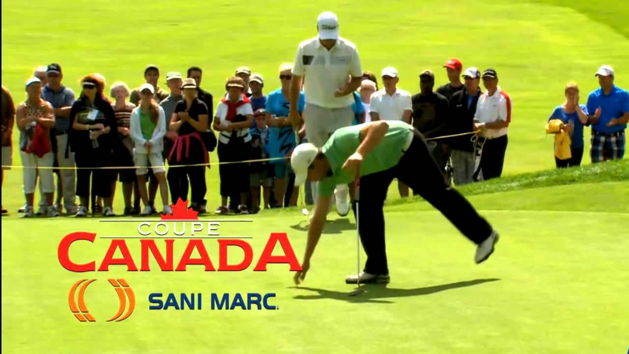 COUPE CANADA SANI MARC 2015 - CLUB DE GOLF VICTORIAVILLE - YouTube