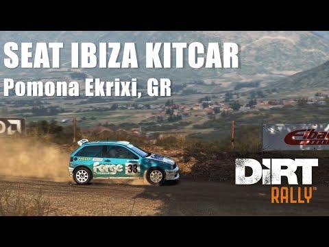 #349 DiRT RALLY - SEAT IBIZA KITCAR - Pomona Ekrixi, GR