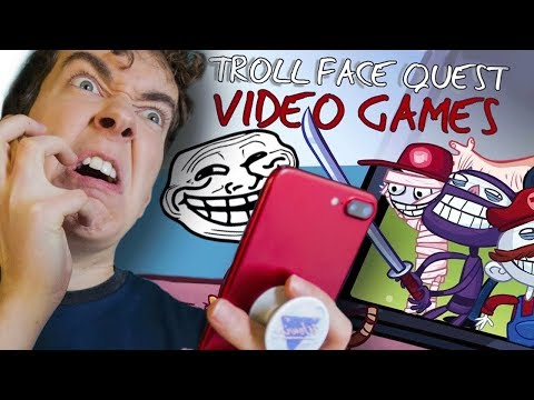 TRY NOT TO RAGE! - Troll Face Quest Video Games (Mobile Rage Game)