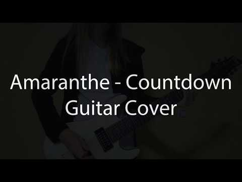 Amaranthe - Countdown (new 2018) Guitar Cover
