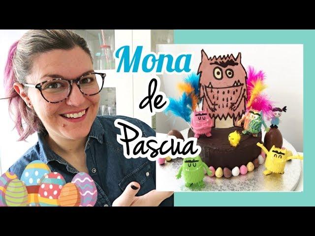 MONA DE PASCUA Fácil | Mona de Chocolate Casera