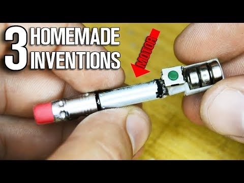 3 Homemade Inventions from Electric Motors