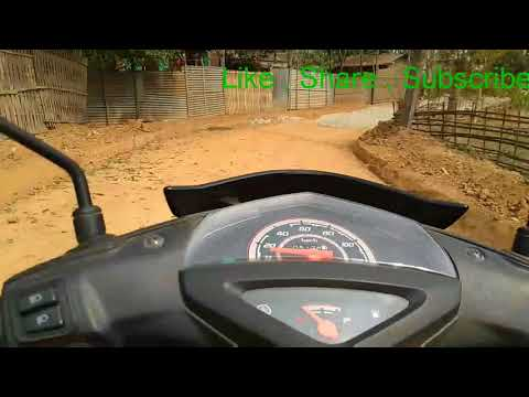 Mileage Test | Yamaha Ray Z | Real world condition