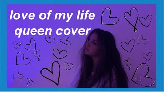 love of my life queen cover but acapella and it's rainy