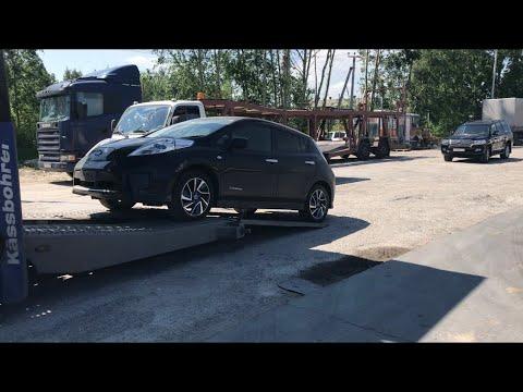 видео: Получаем Nissan Leaf . Первые впечатления