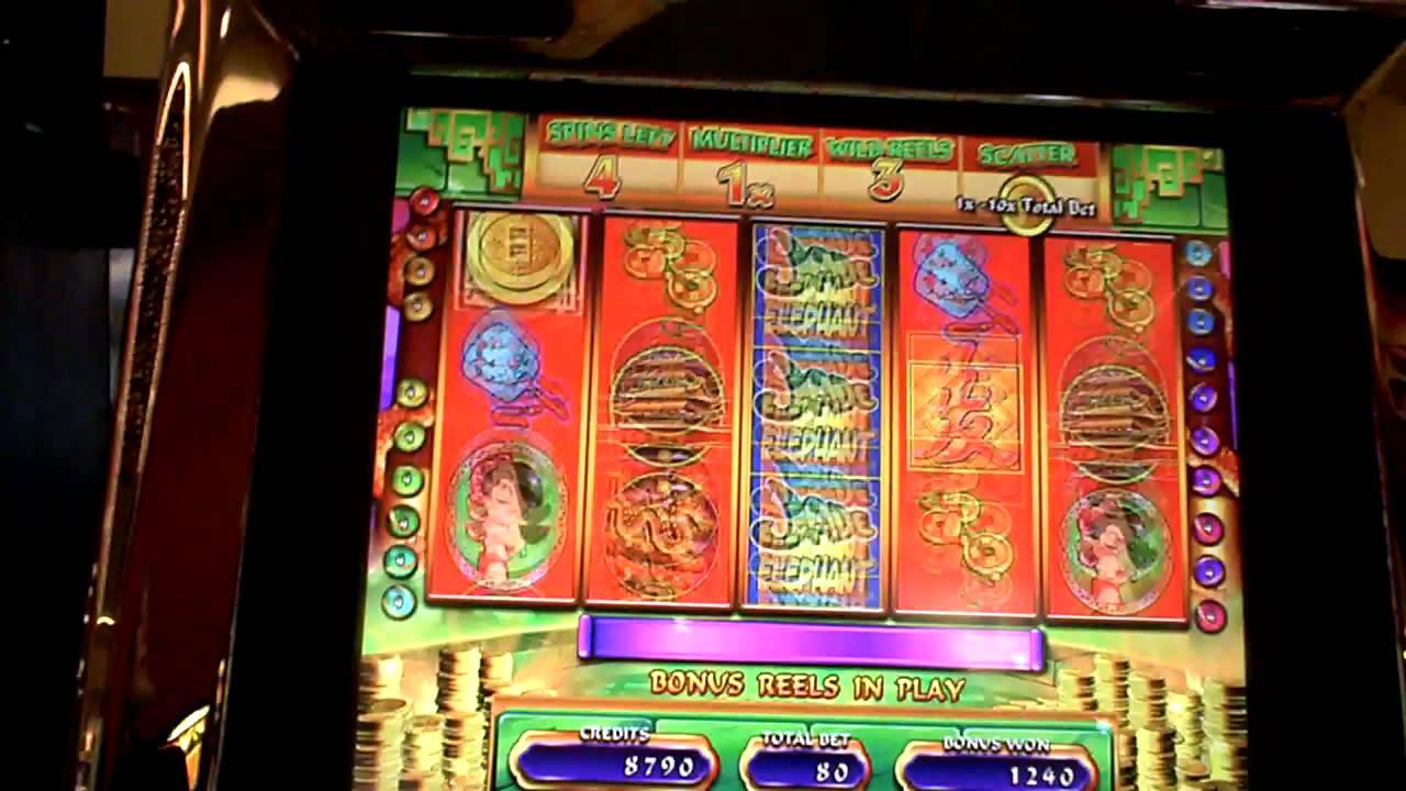 Jade Elephant Slot Machine Bonus Youtube