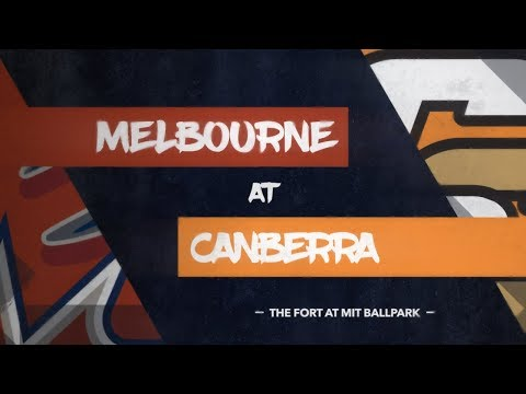 GAME REPLAY: Melbourne Aces @ Canberra Cavalry, R4/G1