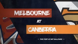 GAME REPLAY: Melbourne Aces @ Canberra Cavalry, R4/G1 thumbnail