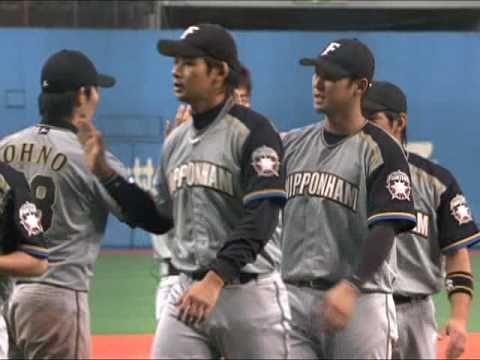 日本ハム完封リレー 9月28日 オリックス04日本ハム 試合ハイライト