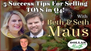 5 Tips For Selling Toys On Amazon FBA/MF Q4 2016! | Retail Arbitrage Toy Experts Beth And Seth Maus!