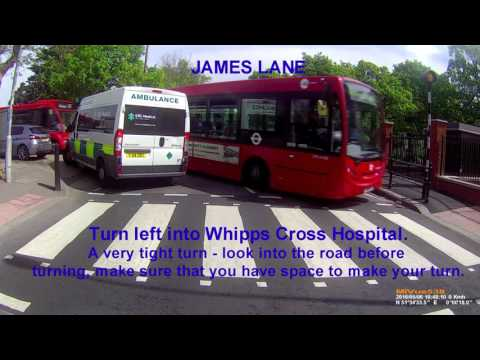 Tower Transit Route W15 Hackney Town Hall to Cogan Avenue