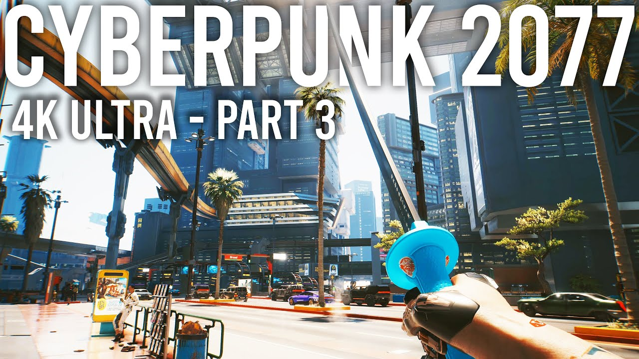Cyberpunk 2077 RTX 4K Ultra gameplay - INSANE GRAPHICS!