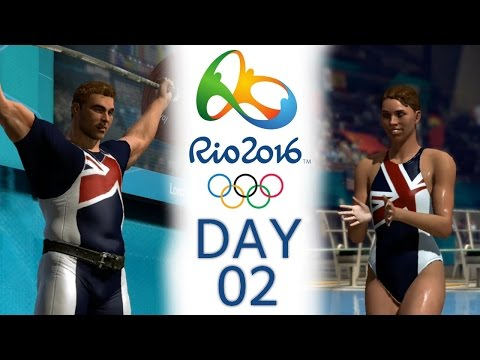 DAY 2   Rio 2016 Olympics Games (London 2012) - Women's 3m Springboard & Men's Weightlifting