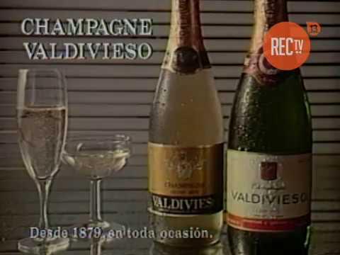 Comercial Champagne Valdivieso ( Teletón - 1987)