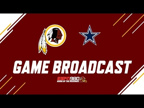 Redskins Radio Booth LIVE vs. Cowboys
