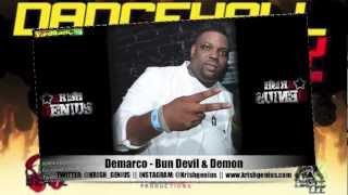 Demarco - Bun Devil & Demon [Dancehall Party Riddim] Jan 2013