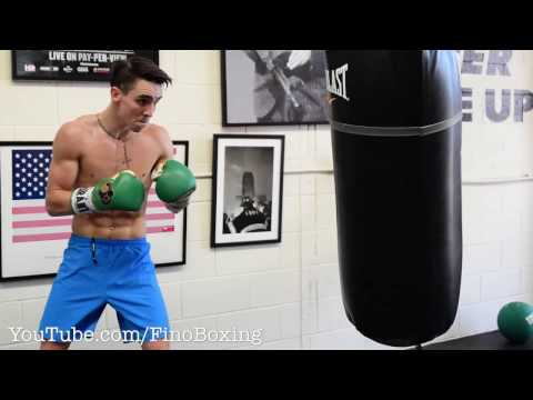 Mike Conlan Terrifying Power With SPEED & MOVEMENT On Heavy Bag DOPE