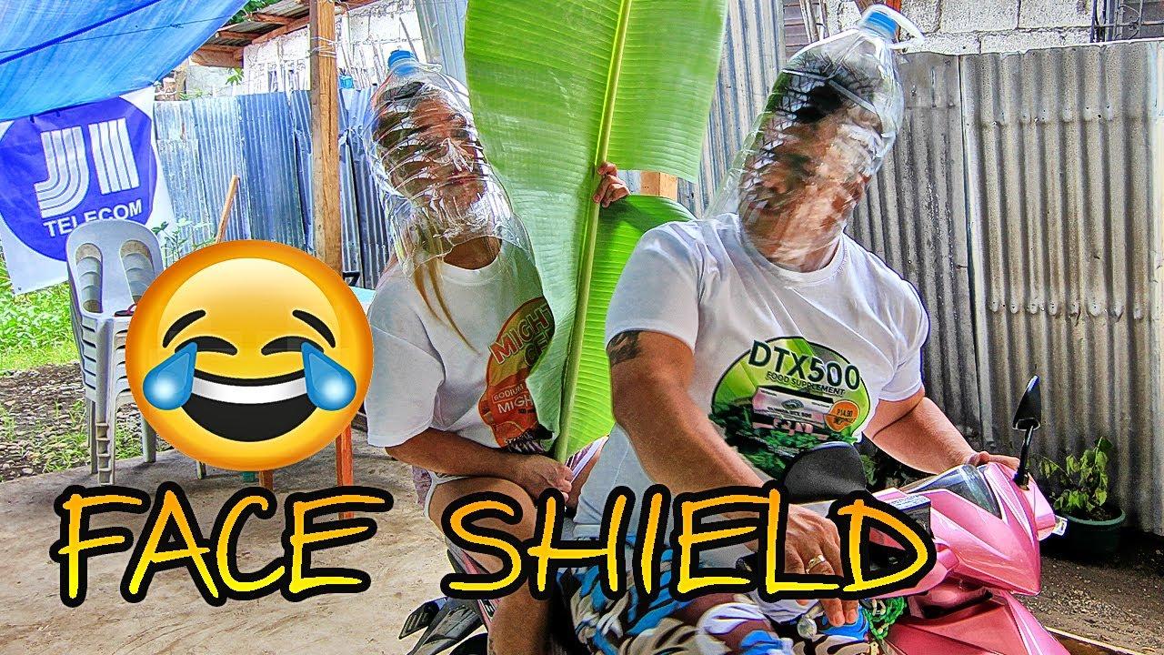 Mao ni nindot nga Face Shield ug Barrier