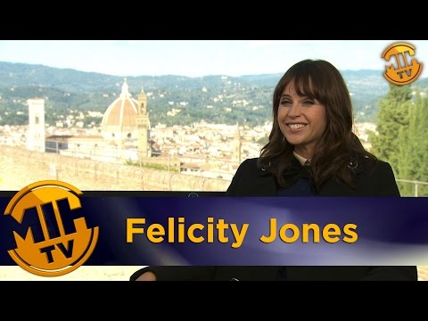 Felicity Jones Inferno Interview
